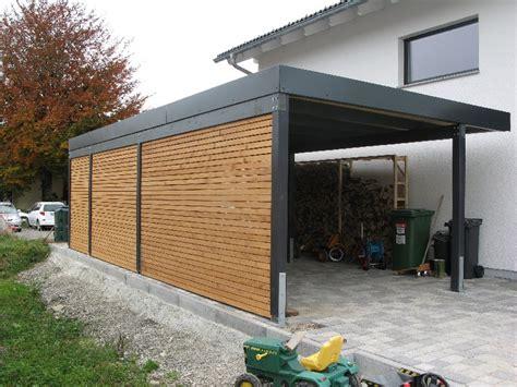 Garage Carport Holz by Carport Wachter Holz Fensterbau Wintergarten