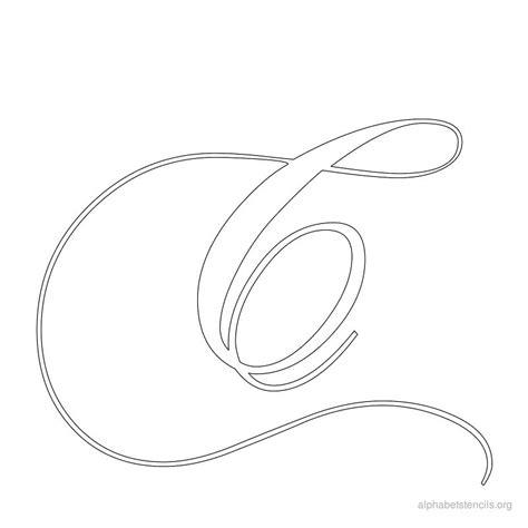 printable calligraphy letters calligraphy alphabet stencil c jpg 800 215 800 stencils