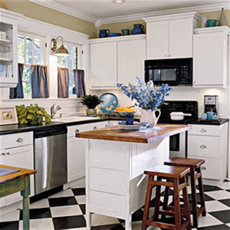 House Beautiful Magazine Customer Service by Black Amp White Our Best Cottage Kitchens Southern Living