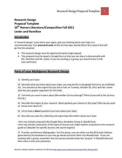 machine design proposal media 21 fall 2011 research proposal template