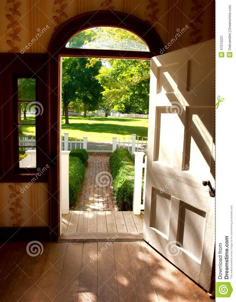 open door stock photo image 47010221