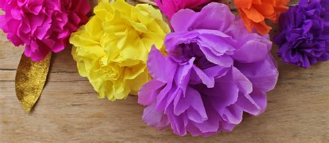 mexican paper flower tutorial mexican paper flowers step by step tutorial watch the video