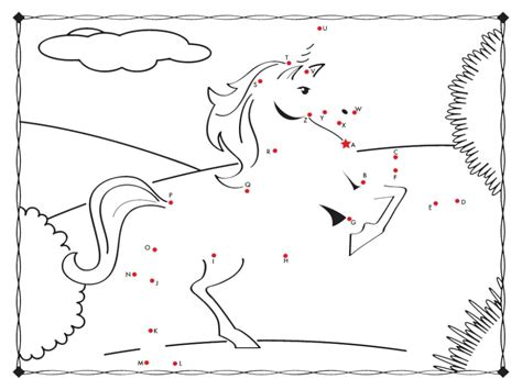connect the colors unicorn connect the dots coloring page free coloring