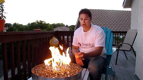 napoleon outdoor patio flame gpfg modern glass gas propane