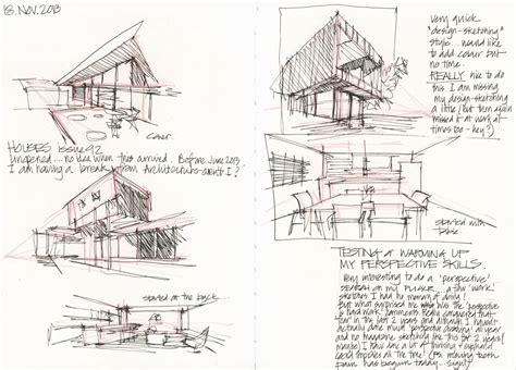Sketches Architecture by Sketching Architecture