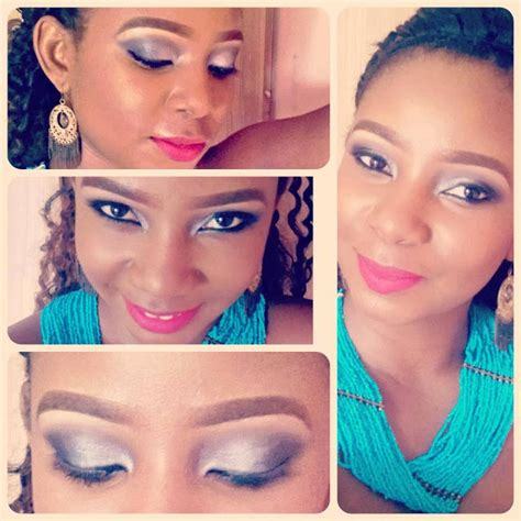makeup artist does mom with birthmark s makeup video photos genevieve nnaji daughter dora nnaji now a make up