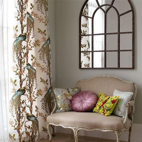 Living Room Curtains Country Style Style Living Room Vintage Design Room