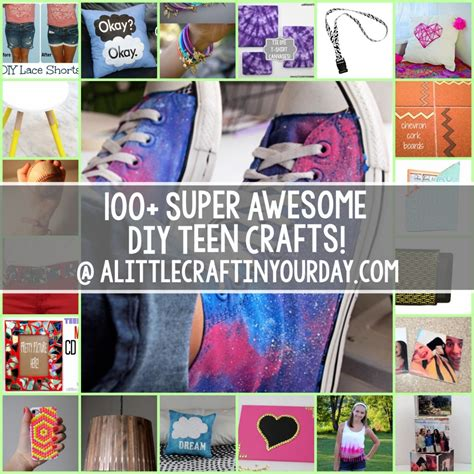diy projects for teens 100 super awesome crafts for teens craft teen