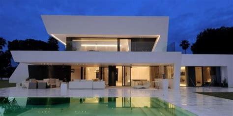 Modern House With Pool casas contempor 226 neas sem telhado aparente fotos modelos