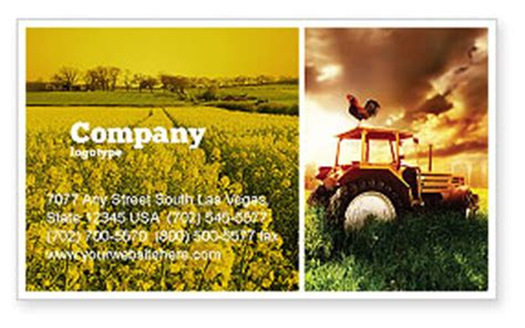 farm business cards templates summer on the farm business card template layout