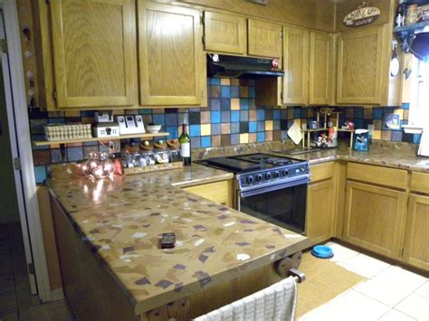 Easy Kitchen Countertops by Easy Inexpensive Diy Kitchen Countertops