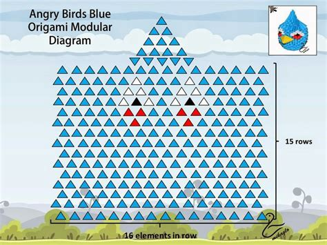 Angry Birds Origami - 11 best 3d origami angry birds images on