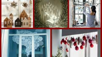 window decoration diy window decorations ideas winter decorating