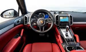 Porsche Cayenne Interior 2015 Porsche Cayenne Turbo Interior Photo