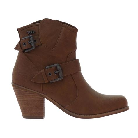 womens xti ankle boots brown shoes from only minx uk