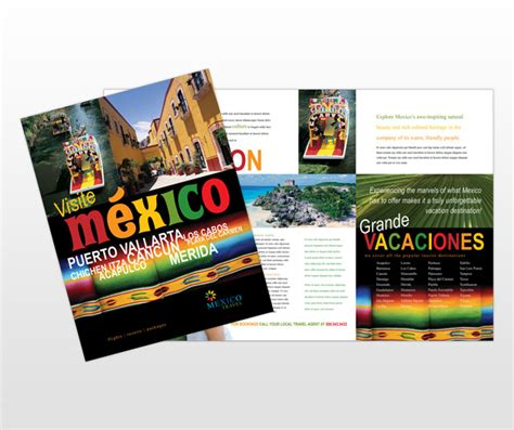 Best Photos Of Mexico Brochure Project Mexico Travel Brochure Exles Social Studies Mexico Brochure Template