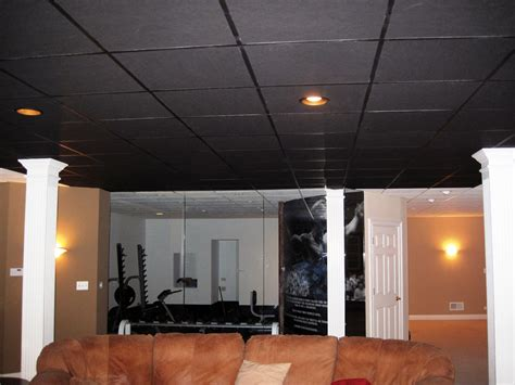 The Black Ceiling by New Ceiling Tiles Combine High Power Thermal Insulation