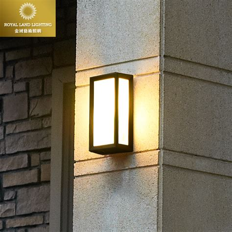 Outdoor Lights For Balcony Aliexpress Buy Fashion Modern Brief Vintage Outdoor Wall L Waterproof Lighting Fitting