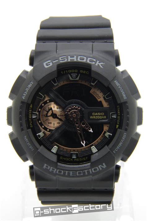 Baby G Ga 110 Black g shock baby g ga 110 ba 110 set black