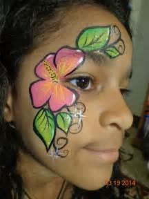 Flower face paint design painted expressions face paint an