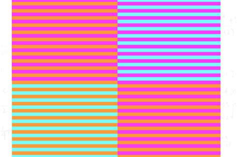 how many colors can you see optical illusion how many colours can you see in this box