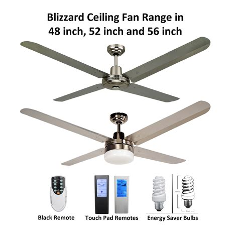 marine grade stainless steel outdoor ceiling fans blizzard 4 blade 316 marine grade stainless steel ceiling