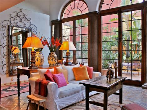 Spanish Style Living Room | 10 spanish inspired rooms interior design styles and