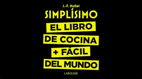 libro why there is no simplisimo el libro de cocina mas facil del mundo booktrailer youtube
