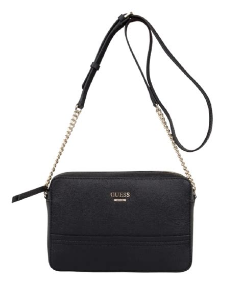 Other Designers Guess The With The Bag by Devyn Crossbody Top Zip Black Guess The Green Bag