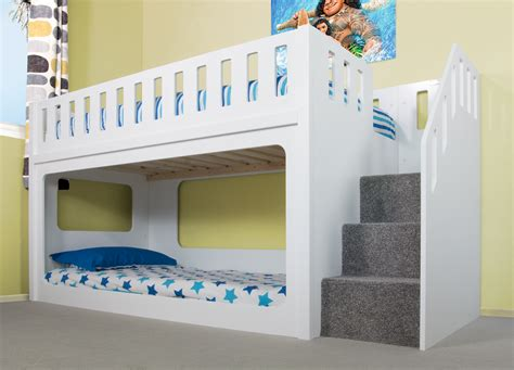 childrens bunk beds with stairs great amazing bunk bed stairs for home designs playhd info