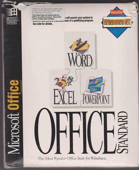 Microsoft Office 4 Office 4 2 For Windows Nt With Virtualizationfun