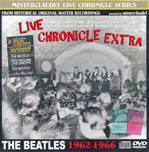 format cd extra the beatles live chronicle extra cd at discogs