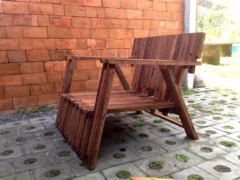 Kursi Lab Kayu kayu kelapa 332lab