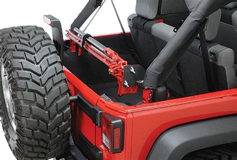 Jeep Tj Hi Lift Mount Quadratec Jk Hljm Sport Cage Hi Lift 174 Mount For 07