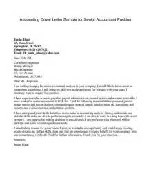 Project Accountant Cover Letter by Unsolicited Cover Letter Sle Gallery Cover Letter Ideas