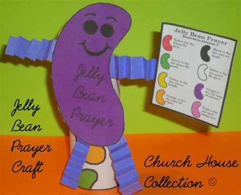 Toilet Paper Roll Easter Crafts - church house collection jelly bean prayer toilet