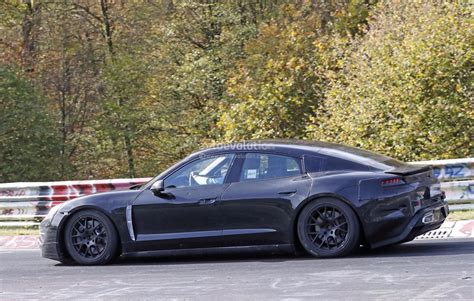 porsche mission porsche mission e flies on nurburgring prototype shows