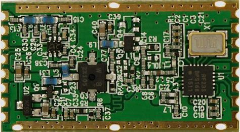 Rfm 23 Ism Uhf Transceiver rfm23bp 868s2 rfm22 868d hoperf sos electronic