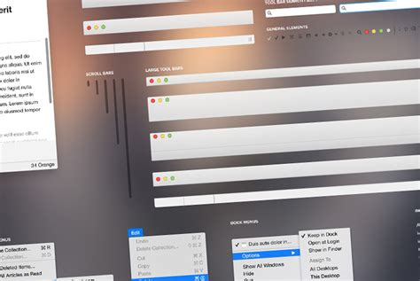 templates pages os x yosemite collection of freebies for designers august edition