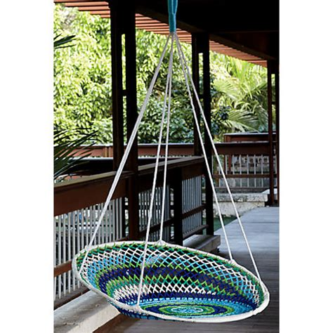 modern outdoor swing chair outdoor living spaces a little brazilian inspiration