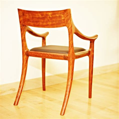 Low Back Dining Chair Crafted Low Back Dining Chair By Garybd Woodworking Custommade
