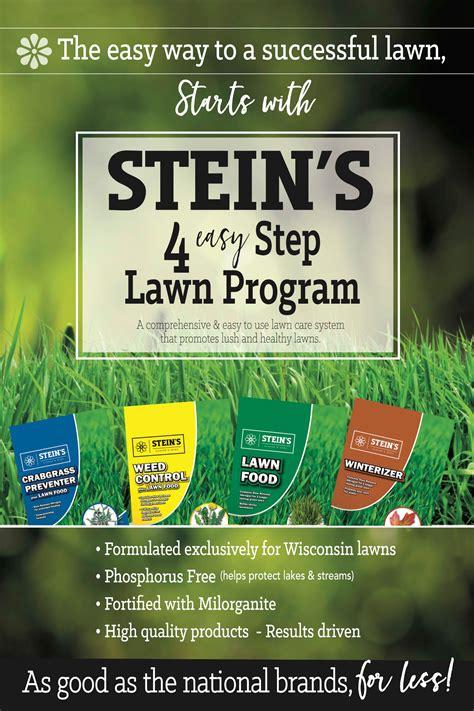 lawn program steins garden home