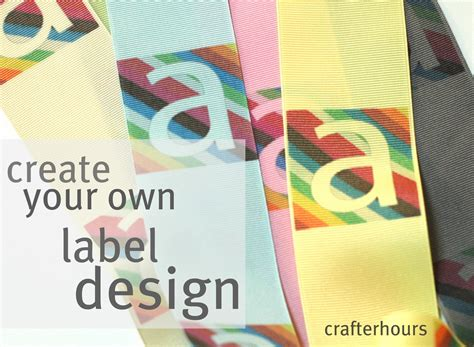 Label Design Tutorial | design your own label a tutorial crafterhours