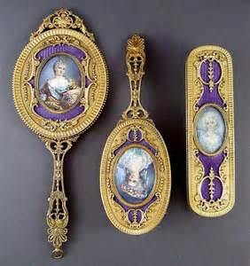 Vanity Sets Antique Purple Vintage Vanity Set Mirrors Small Vanity