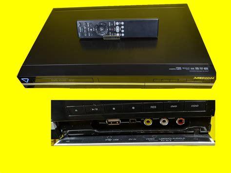 festplattenrecorder hdmi eingang dvd rekorder festplattenrecorder 500 gb hdd dvb t tv