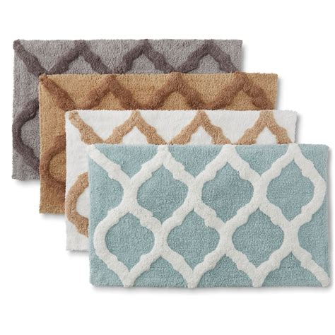 bath towels and rugs cannon tufted bath rug trellis home bed bath bath bath towels rugs bath rugs mats