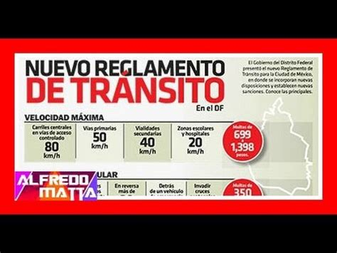 reglamento de trnsito edomex 2016 nuevo reglamento de transito df youtube
