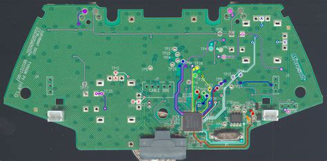 xbox 360 controller circuit diagram circuit and