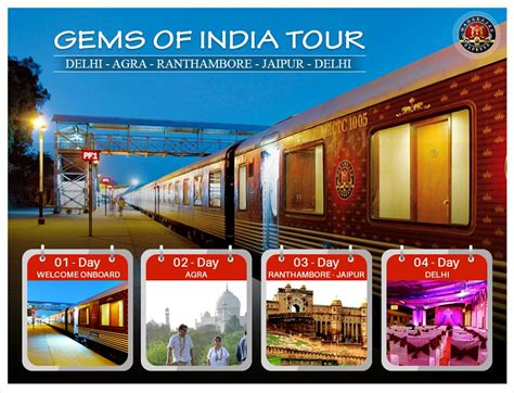 maharajas express gems of india tour will roll out on golden triangle tour by maharajas express luxury train
