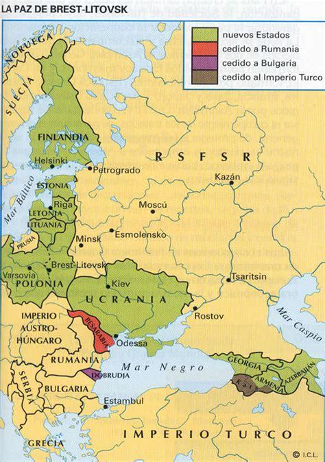 frente otomano primera guerra mundial 3 de marzo 1918 tratado de brest litovsk